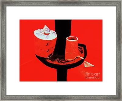 Reserve Blend Framed Print by Joe Jake Pratt