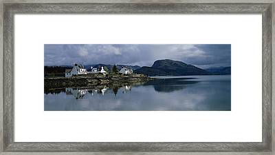 Residential Structure On The Framed Print by Panoramic Images