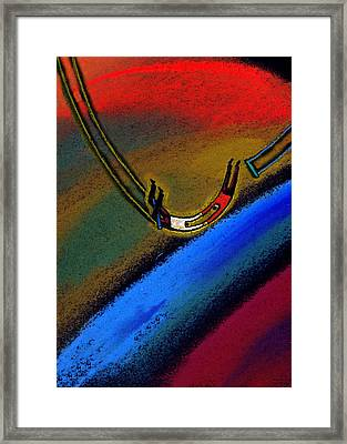 Responsibility Framed Print by Leon Zernitsky