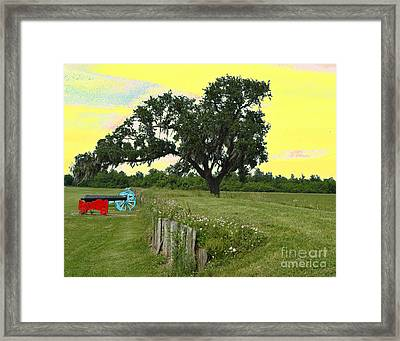 Rest In Peace 2 Framed Print by Alys Caviness-Gober