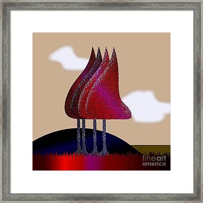 Rest Framed Print by Iris Gelbart