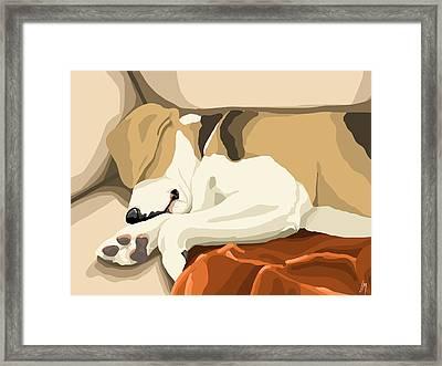 Rest Framed Print by Veronica Minozzi