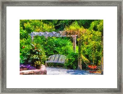 Restful Retreat Framed Print by Lois Bryan