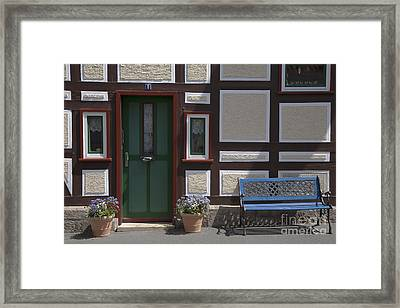 Resting Place Framed Print by Heiko Koehrer-Wagner