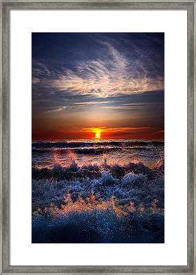Restless Framed Print by Phil Koch