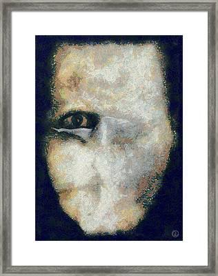 Restricted Contact Framed Print by Gun Legler