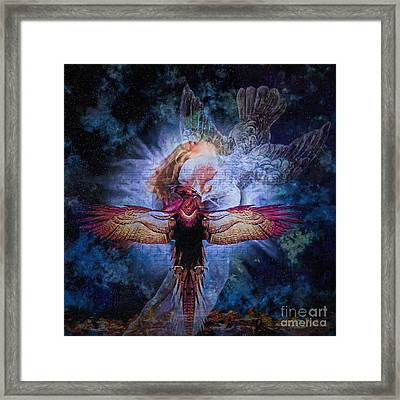 Resurrection Framed Print by Lianne Schneider
