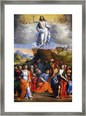 Resurrection  Framed Print by Munir Alawi