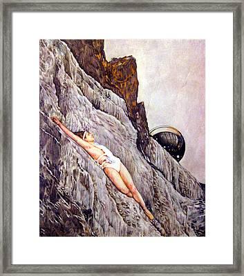 Resurrection Framed Print by Sharon Mills