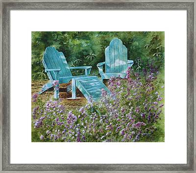 Retirement II Framed Print by Patsy Sharpe