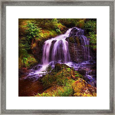 Retreat For Soul. Rest And Be Thankful. Scotland Framed Print by Jenny Rainbow