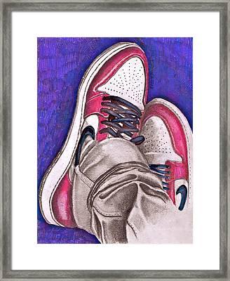 Retro 1.2 Framed Print by Dallas Roquemore