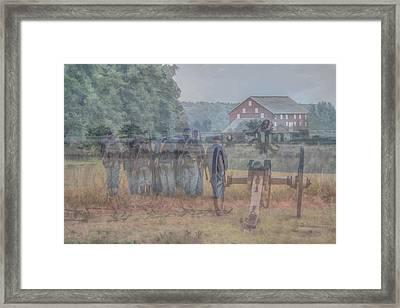 Return To Gettysburg Framed Print by Randy Steele