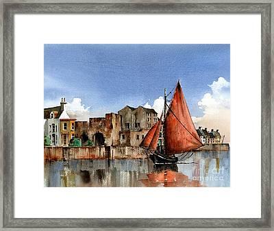 Galway Returning Home   Framed Print by Val Byrne