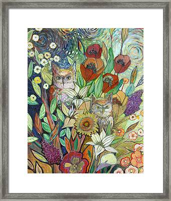 Returning Home To Roost Framed Print by Jennifer Lommers