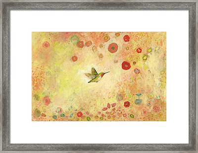 Returning To Fairyland Framed Print by Jennifer Lommers