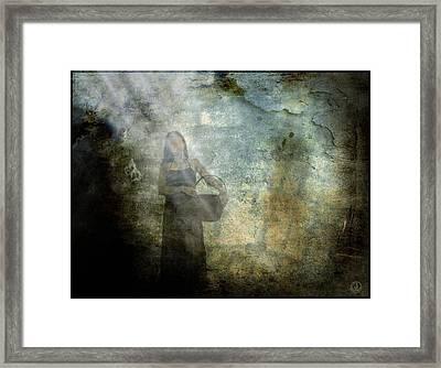 Returning With An Empty Basket Framed Print by Gun Legler