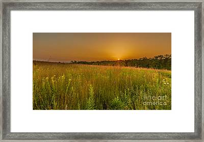 Retzer Sunset Framed Print by Andrew Slater