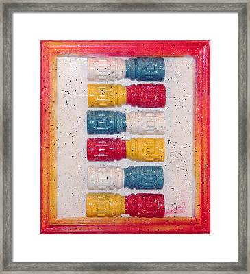 Reuse Before Recycle It Is In Our Dna Framed Print by Crush Creations