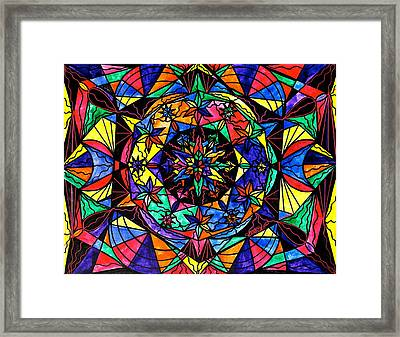 Reveal The Mystery Framed Print by Teal Eye  Print Store