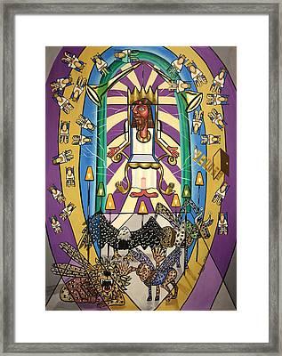 Revelation Chapter 4 Framed Print by Anthony Falbo