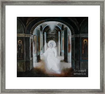 Revelation Framed Print by Jukka Nopsanen