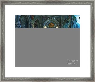 Reverence Variant 2 Framed Print by Drazenka Kimpel