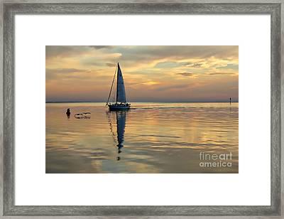Reverie Framed Print by Lynn Jordan