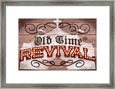 Revival I Framed Print by April Moen