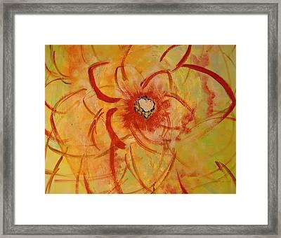 Rewarded Framed Print by Karen Lillard