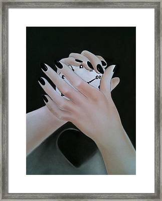 Rewind Framed Print by Ida Ambrosio