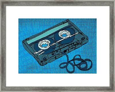 Rewind Framed Print by Mike Brennan