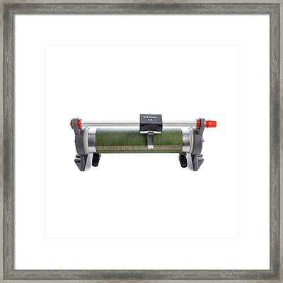 Rheostat Framed Print by Science Photo Library