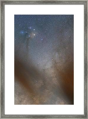 Rho Ophiuchi Cloud Complex Framed Print by Luis Argerich