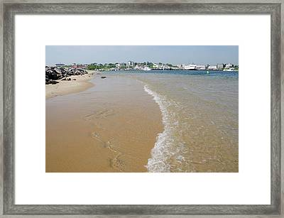 Rhode Island, Block Island Framed Print by Cindy Miller Hopkins
