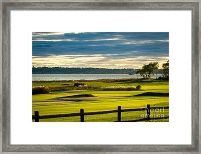 Rhode Island Country Club Framed Print by Heidi Piccerelli