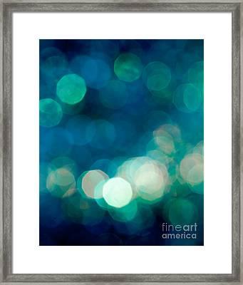Rhythm N Blues Framed Print by Jan Bickerton