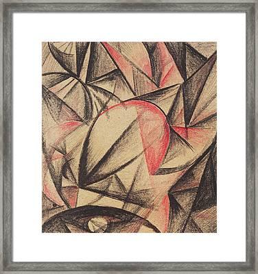 Rhythm Of Forms Framed Print by Alexander Bogomazov