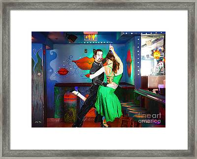 Rhythm Of The Dance Framed Print by Judy Kay
