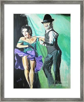 Rhythm Of The Night Framed Print by Judy Kay