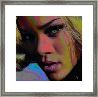 Ri Ri Framed Print by  Fli Art
