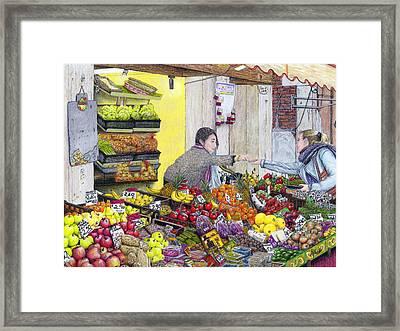 Rialto Market Framed Print by Albert Puskaric