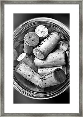 Ribbit Framed Print by Ron Regalado