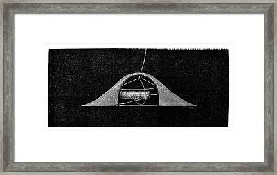 Ribbon Weaving Framed Print by Science Photo Library