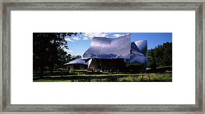 Richard B. Fisher Center Framed Print by Panoramic Images