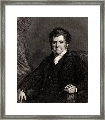 Richard Bright Framed Print by Universal History Archive/uig