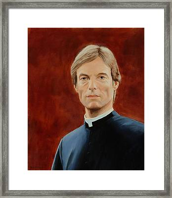 Richard Chamberlain Framed Print by Lepercq Veronique