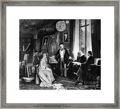 Richard Wagner Framed Print by Granger