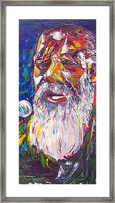 Richie Havens - Freedom Framed Print by Valerie Wolf