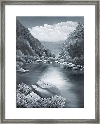Richland Creek Framed Print by Garry McMichael